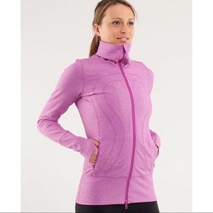 Brand new lululemon 4 Heathered  In Stride Jacket